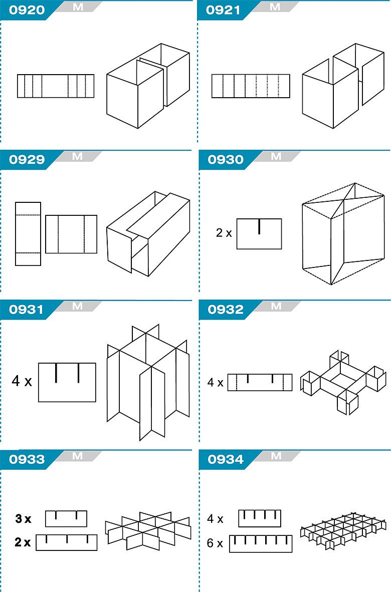 FEFCO 0920 - kratownice kartonowe