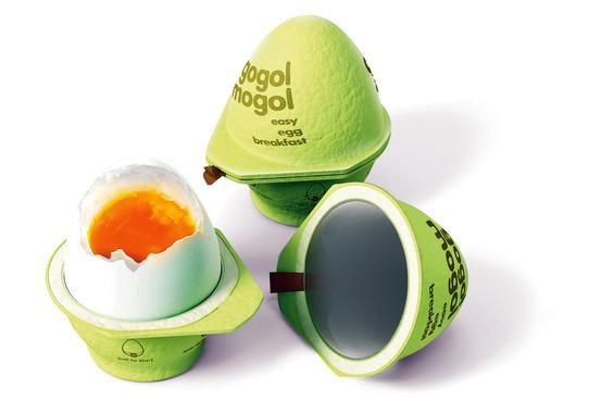 Gogol Mogol - karton gotuje jajka