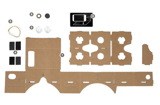 Google Cardboard - okulary z kartonu