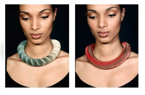 Biżuteria z tektury falistej