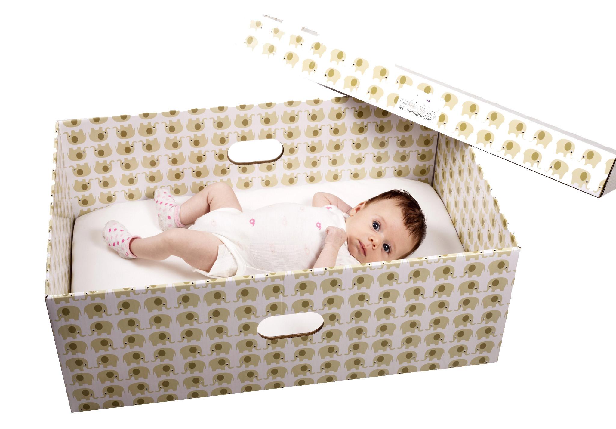 Finnish Baby Box - dziecko
