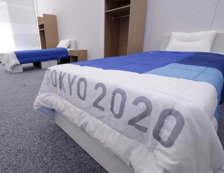 Tekturowe łóżka w Tokio 2020